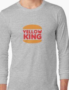 Yellow King Logo Long Sleeve T-Shirt