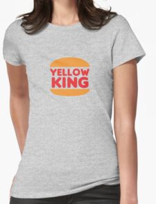 Yellow King Logo Womens Fitted T-Shirt