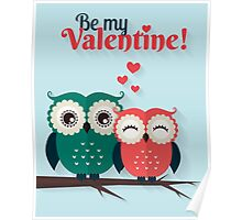 Lovers owls Poster