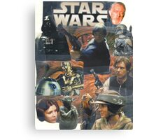 Star Wars Homage Collage #2 Canvas Print