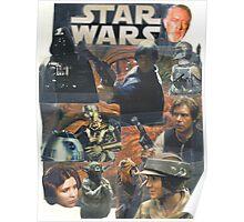 Star Wars Homage Collage #2 Poster