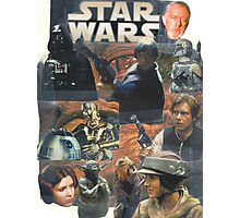 Star Wars Homage Collage #2 Photographic Print
