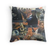 Star Wars Homage Collage #2 Throw Pillow