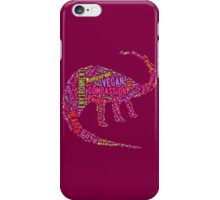 Vegan Dinosaur iPhone Case/Skin