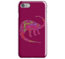 Vegan Dinosaur iPhone Case/Skin