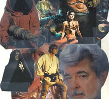 Star Wars Collage by Chan Hurst