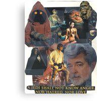 Star Wars Collage Canvas Print