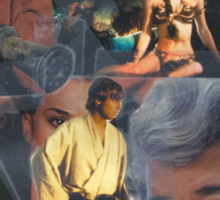 Star Wars Collage Sticker