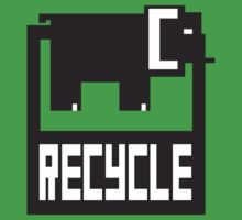 go green - recycle your waste by kislev