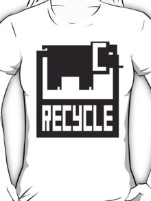 go green - recycle your waste T-Shirt