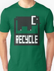 go green - recycle your waste Unisex T-Shirt