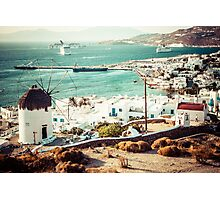 Mykonos Photographic Print
