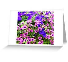 Pretty Flowers Greeting Card