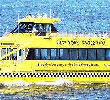 New York - Water Taxi by canvasandstyle