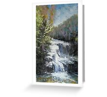 Tennessee waterfall  Greeting Card