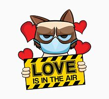 Grumpy Cat - love is in the air Unisex T-Shirt