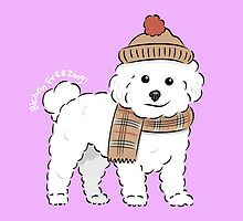 Bichon Freezing! by Lauraamynic