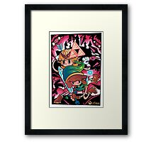 Piece Keepers Framed Print
