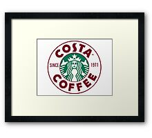 Costabucks Framed Print