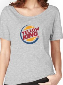 Yellow King Logo 2 Women's Relaxed Fit T-Shirt