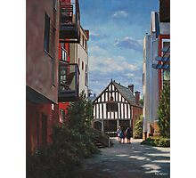 Southampton Medieval Merchant House from High st Photographic Print