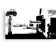 [34]BensonMotelBW Canvas Print