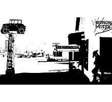 [34]BensonMotelBW Photographic Print