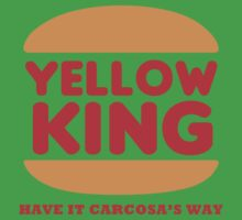 Yellow King Carcosa Logo by Prophecyrob