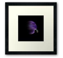 Painted World #3 Framed Print