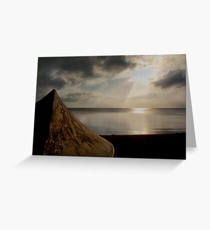 Tranquil Surreal Greeting Card