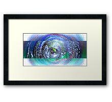 Galaxy Strip Framed Print