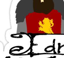 King Edmund The Just Sticker