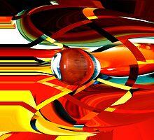 bullet-through-time-warp  by Wieslaw Jan Syposz