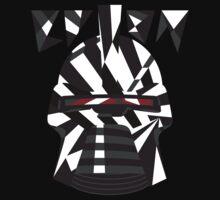Dazzle Camo Cylon - Battlestar Galactica Kids Tee