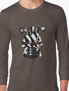 Dazzle Camo Cylon - Battlestar Galactica Long Sleeve T-Shirt