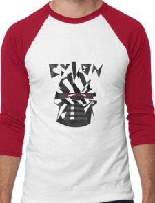 Dazzle Camo Cylon - Battlestar Galactica Men's Baseball ¾ T-Shirt