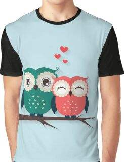 Lovers owls Graphic T-Shirt