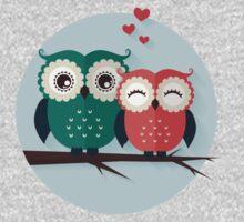 Lovers owls Kids Tee