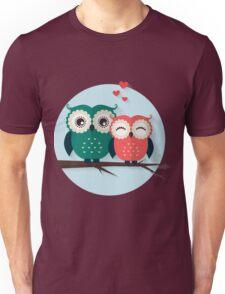 Lovers owls Unisex T-Shirt
