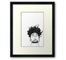 Hair Framed Print