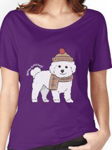 Bichon Freezing! Women's Relaxed Fit T-Shirt