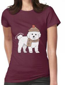 Bichon Freezing! Womens Fitted T-Shirt