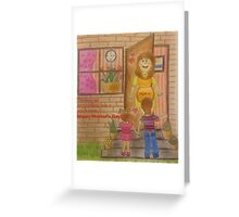 Love Mom Greeting Card