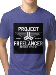 Red vs Blue Project Freelancer Tri-blend T-Shirt
