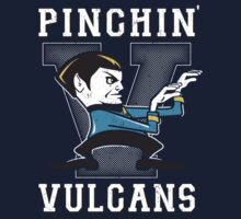 Pinching Vulcans One Piece - Long Sleeve