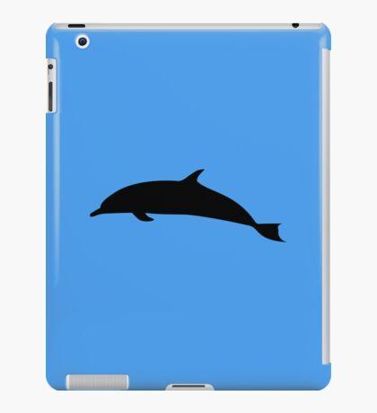 Dolphin Silhouette iPad Case/Skin