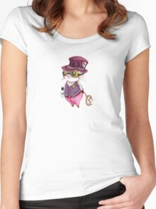 GoggleSheep - Gabe Women's Fitted Scoop T-Shirt