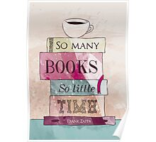 So many books Poster