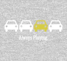 Cabin Pressure - Always Playing Yellow Car Kids Tee
