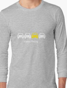 Cabin Pressure - Always Playing Yellow Car Long Sleeve T-Shirt